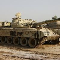 Korai T-72-es kissé módosítva - az Uralon túl