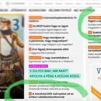 Címlapon Orbánnal és a macskaszarral: A kiló nem százat jelent. (Bocs.)
