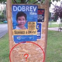 EP-kampány: plakátháborúban állnak az ellenzéki pártok — egymással