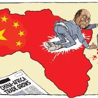Kína megvette Afrikát kilóra