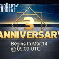 Extra akciók a GearBesten a harmadik születésnapján!