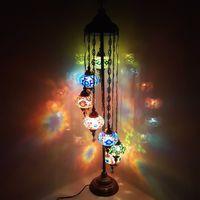 Keleties stílusú mozaik lámpa - Teszt