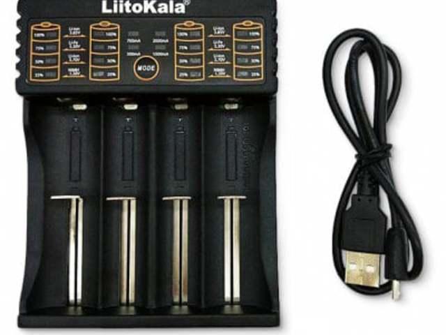 LiitoKala Lii PL4 akkumulátor töltő