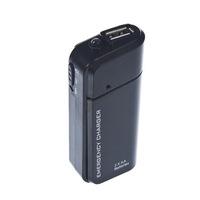 Hordozható, külső akkumulátor töltő AA elemmel vagy akkumulátorral működő, USB telefon, tablet vésztöltő