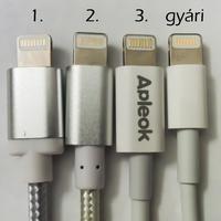 Apple Lightning USB kábel teszt, iPhone, iPad, MFI - Teszt