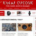 Elindult új oldalunk, a kinaicuccok.eu