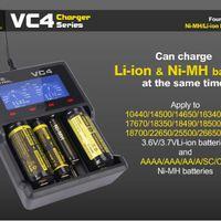 XTAR VC4 NiMh és Li-Ion akkumulátor töltő - Teszt (USB Battery Charger, 18650 26650 14500 LCD)