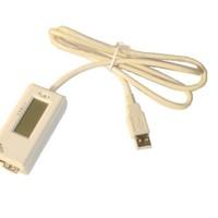 USB 2.0 feszültség és áramerősség mérő, tesztelő, hosszabbító kábel (V/A meter, áram volt mérő műszer)