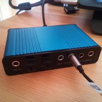 USB-s 6 csatornás hangkártya laptophoz - Teszt
