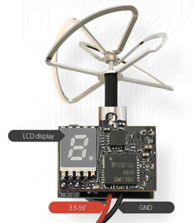 Eachine TX02 5.8G 40CH 200mW