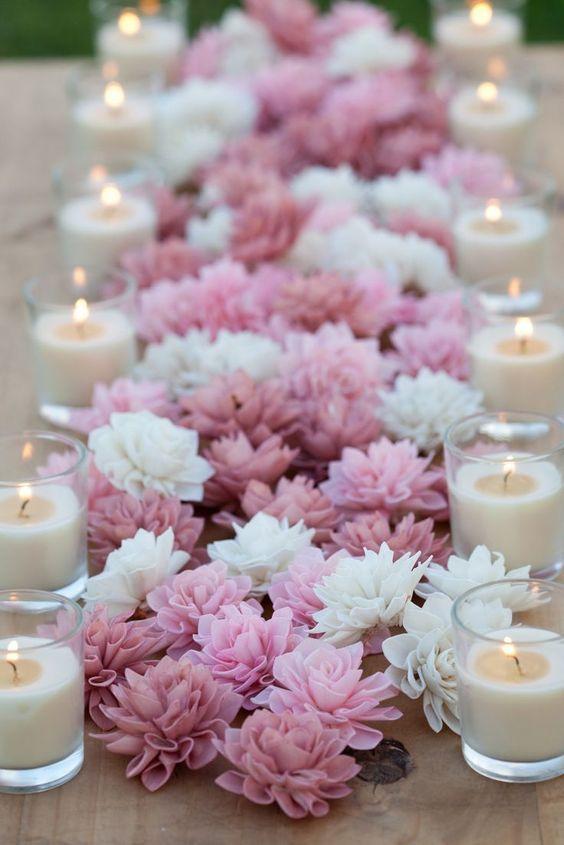 Dekoráljuk az asztalt is virágokkal!