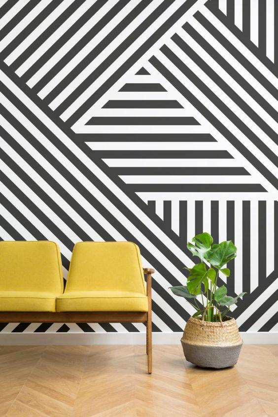 Geometrikus a modern stílus kedvelőinek!