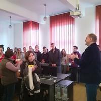 Látogatás a Kézdivásárhelyi Református Kollégiumban