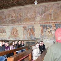 Gelencei templom látogatás