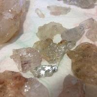 Gipszkristályok és fosszíliák Gántról