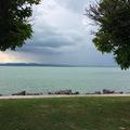 Balaton vihar előtt