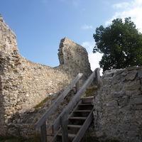 Rezi vár - körpanoráma a Balaton-felvidékre