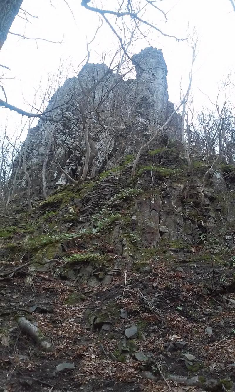 A Badacsony legszebb bazalt oszlopsora