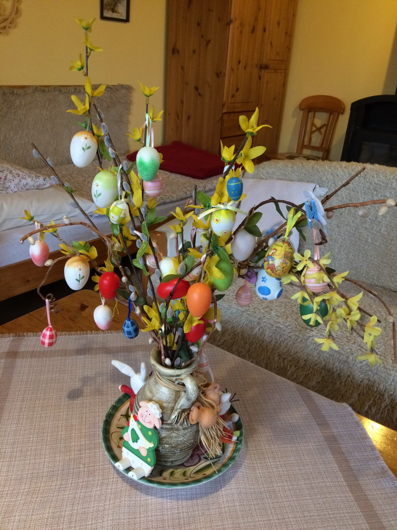 Húsvéti dekor a szobában
