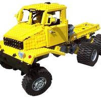 Kockateherautók terepen -LEGO Truck Trial. NYERJETEK LEGÓT!