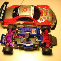 Kyosho Mini Z AWD alvázcsere, avagy Karcsika megfiatalodik