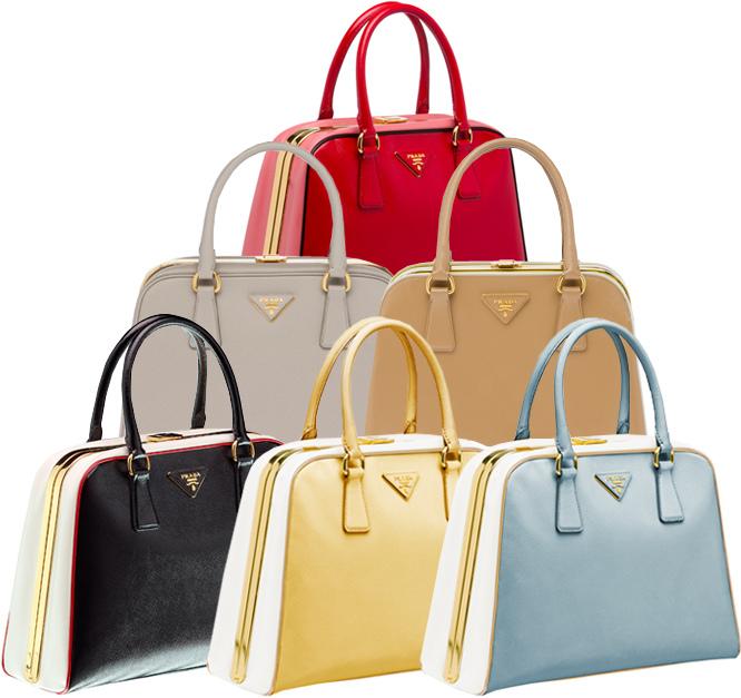 a90769a7515f Új év új táskák, január közepétől az üzletekben a Prada tavaszi  kollekciója, ami a Piramyd névre hallgat és gyönyörű színekben pompázik a  halvány kéktől a ...
