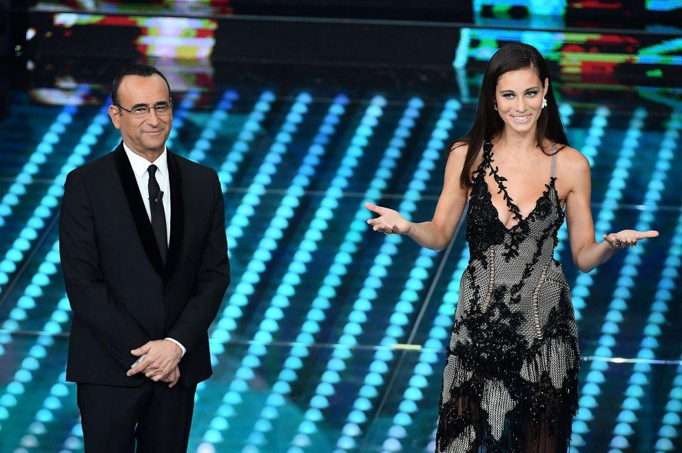 Eros Ramazottiné, azaz Marica Pellegrinelli olasz modell.