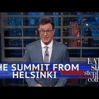 Helsinki után: Az amerikai talk show házigazdák reakciói