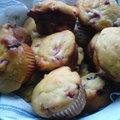 Dupla csokis-epres muffin