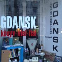 GDANSK könyvesbolt és büfé programja