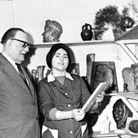 Pénzes László: Takács Erzsébet/1928-1999/ szobrász Kislétán is élt és alkotott.
