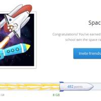 Dropbox Space Race