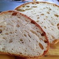 Első kövön sült vadkovászos kenyerem
