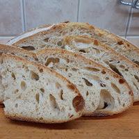 75 % hidratáltságú kenyér