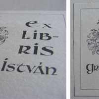 Szignet No.: 4 - Ex libris Gruber István