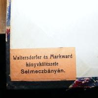 Szignet No.: 17 - Waltersdorfer és Markward könyvkötészete