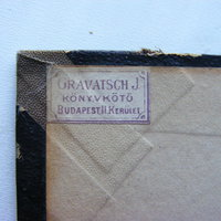 Szignet No.: 13 - Gravatsch J. könyvkötő