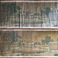 Óriási méretű KAKEMONO (tekercskép) restaurálása