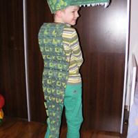 Farsang - krokodil
