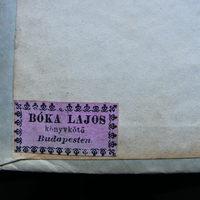 Szignet Nr.: 21 - Bóka Lajos könyvkötő