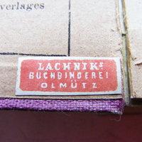 Szignet No.: 14 - Lachnik's Buchbinderei