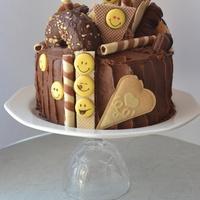 egyszerű csokitorta