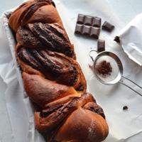 csokoládés kalács