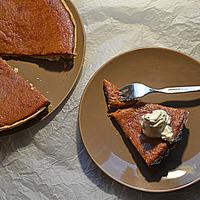 Pumpkin pie - sütőtökös pite