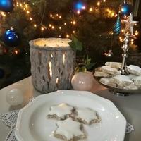karácsony, fahéj, csillagok