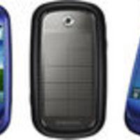 Napelemes, érintőképernyős telefon a Samsung-tól