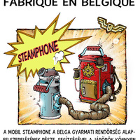 használati tárgyak - mobil steamphone