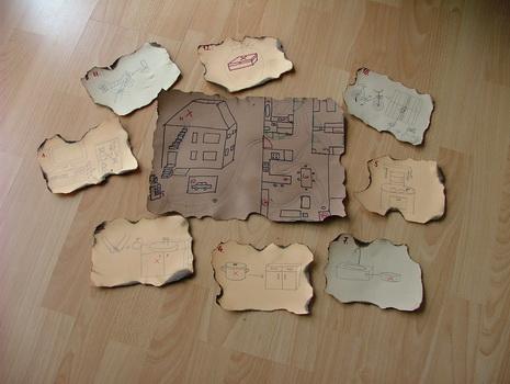 kincses térkép készítése Kincskeresős szülinap   Kitti és Szonja blogja