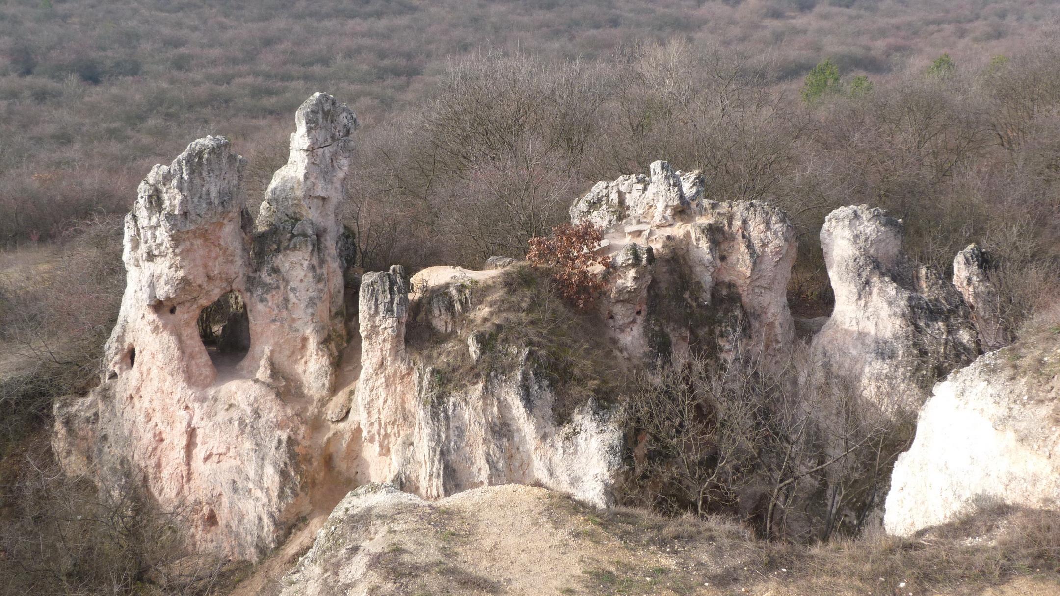 A Teve szikla (felülről)