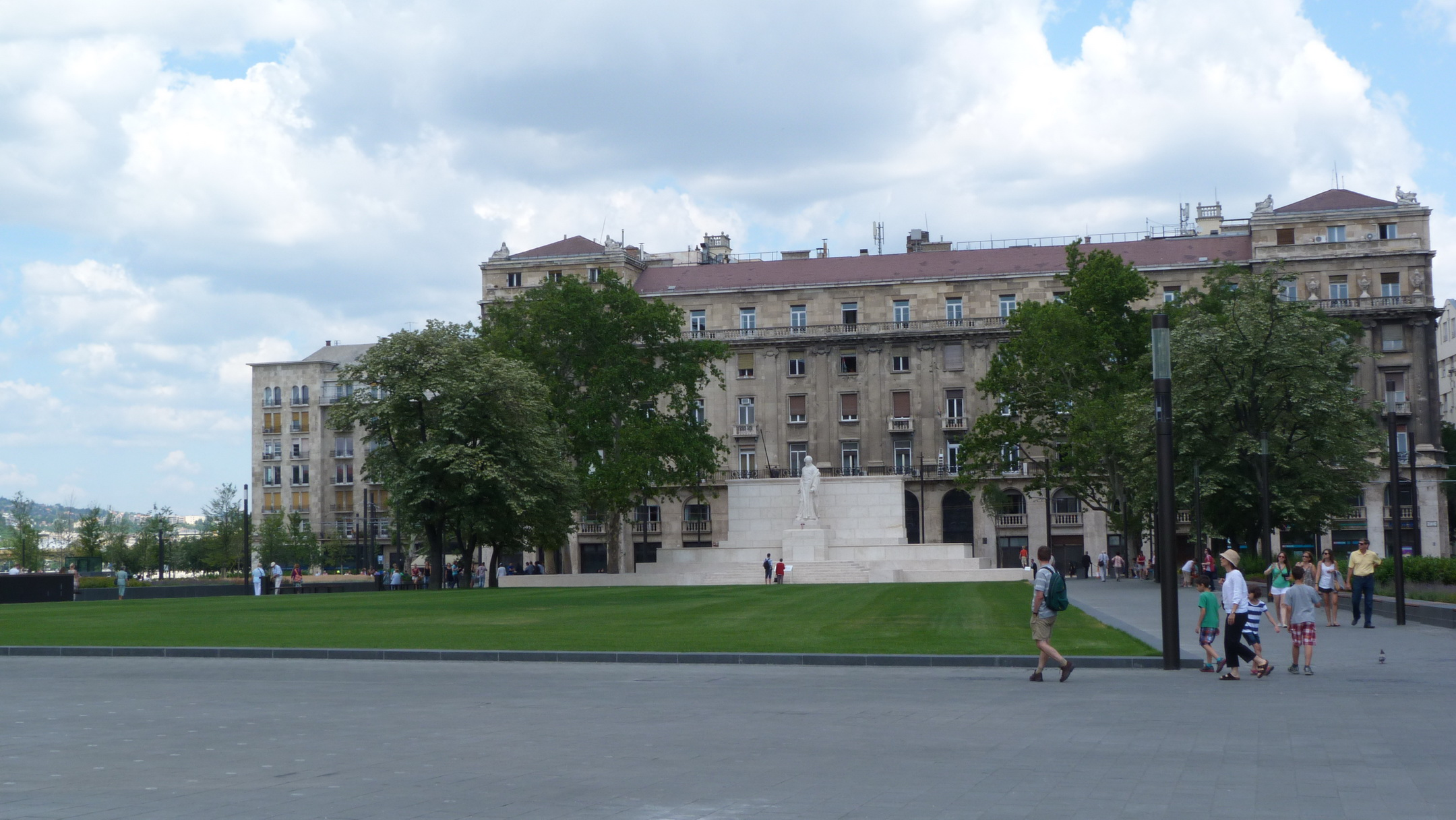 A Kossuth szobor